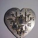 Simple STM32 heart-shaped led blinker