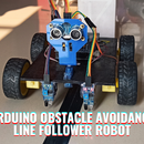Arduino Obstacle Avoidance Line Follower Robot Projects 2021