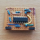 Simple Dry Electrode EMG for Arduino