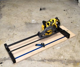 How to Make a Circular Saw Crosscut Jig and Router Guide 2 in 1