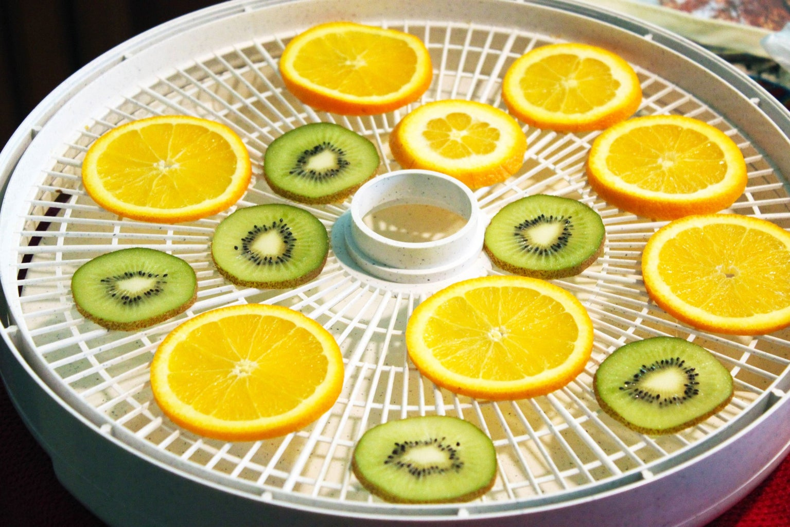 Dehydrating (End of Day One)