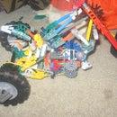 k,nex 3 wheel chopper bike