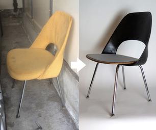Saarinen Side Chair Reimagined