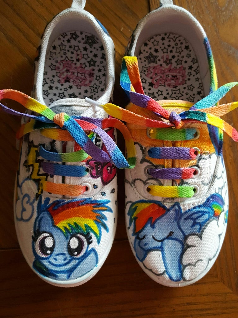 Custom Designed Shoes Galore!