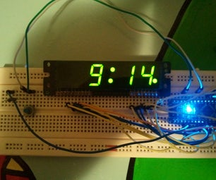 Arduino Clock Using Standard Clock Display