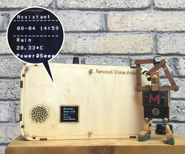 DIY Smart House 1 - Personal Voice Assistant (based on Raspberry Pi)