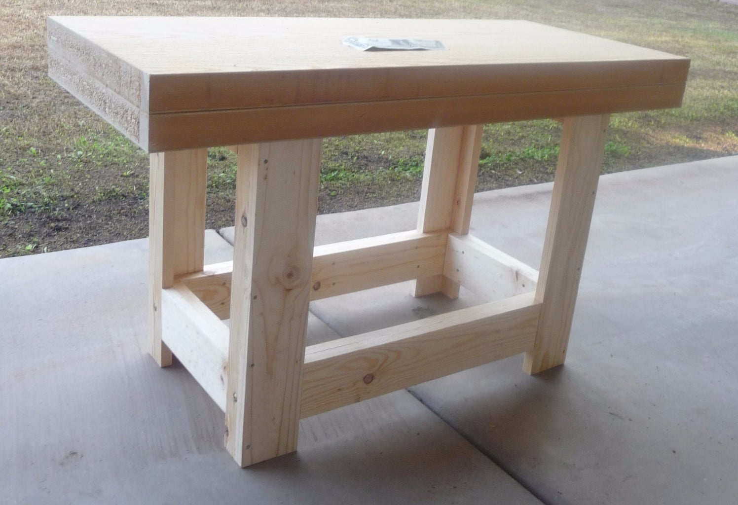 Build a Child's Workbench Any Size You Want