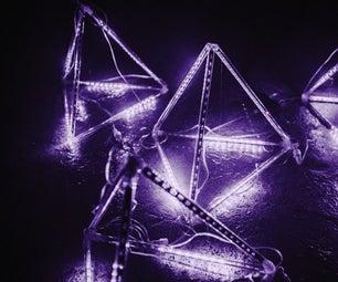 LED Meteor Shower Pyramid