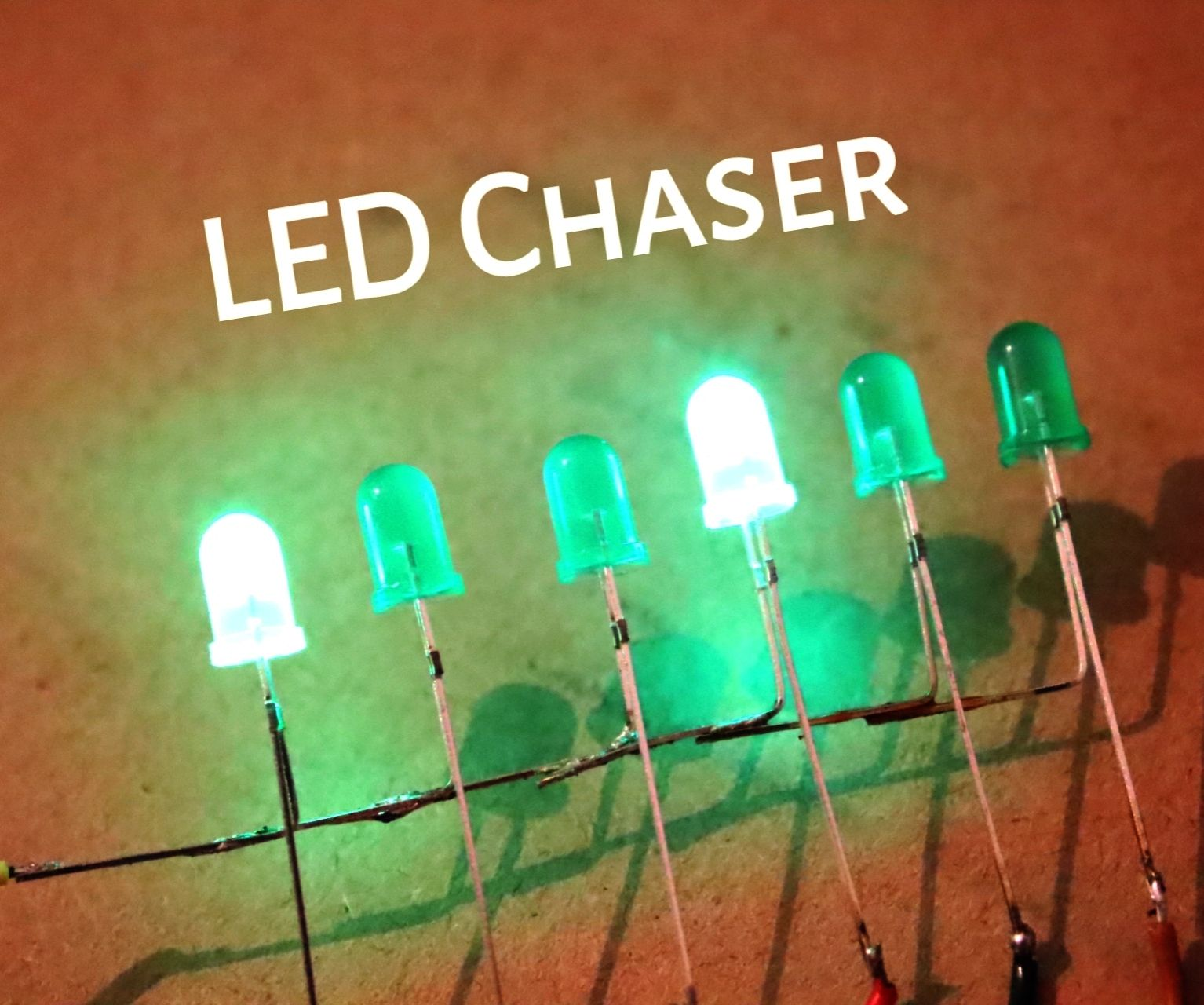 How to Make Best LED Chaser Without IC