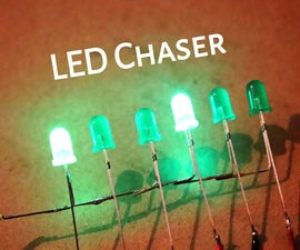 How to Make Best LED Chaser Circuit Without IC