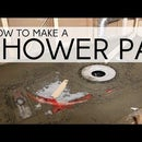 How to Build a Mortar Shower Pan