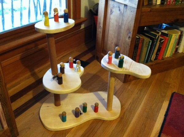 How to Make a Wooden Playset