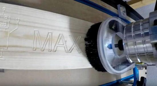 (Optional) Engrave Headboard