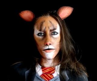 Hermione Granger As a Cat (BODY PAINT)