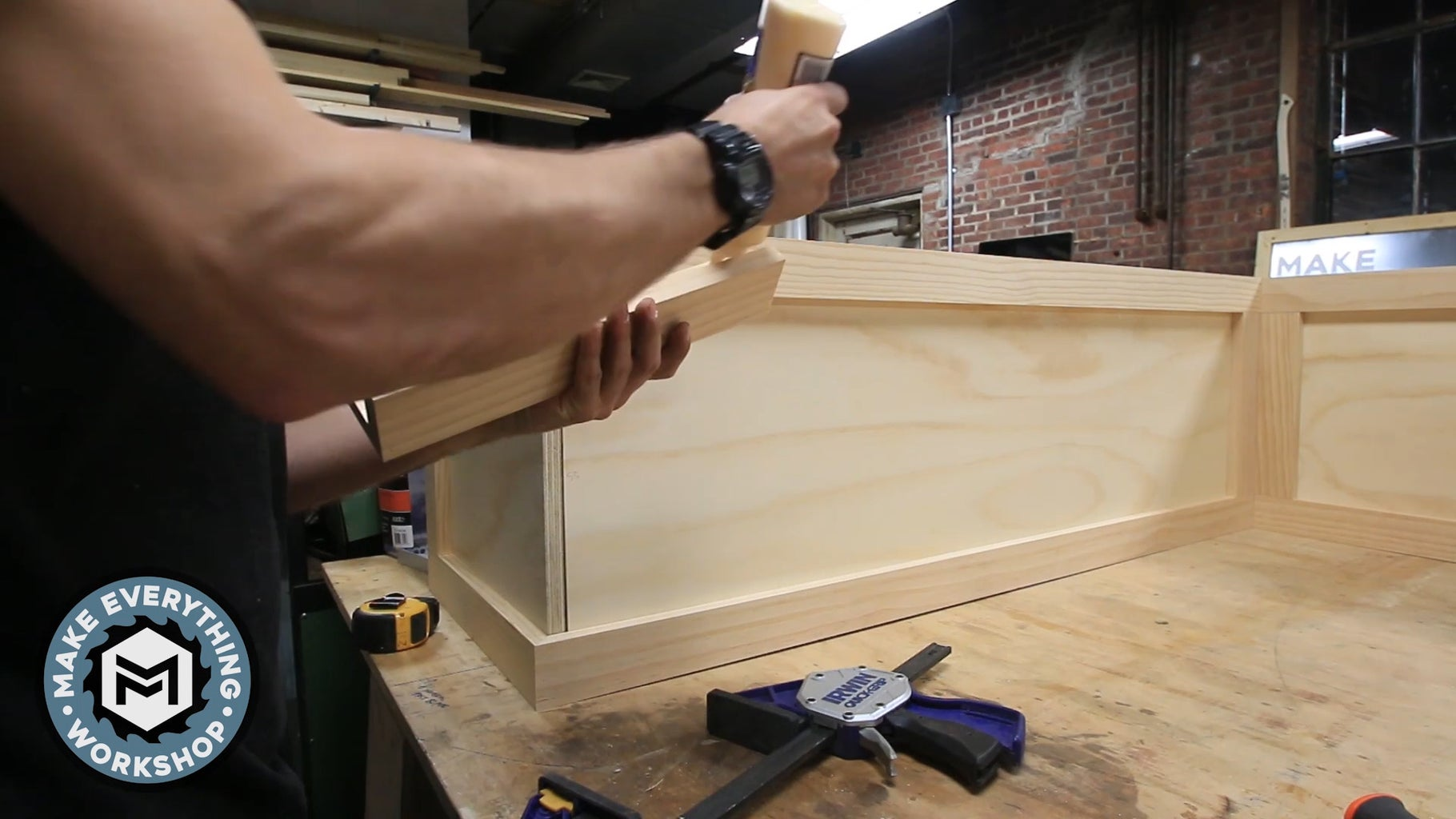 Trim Out the Benches