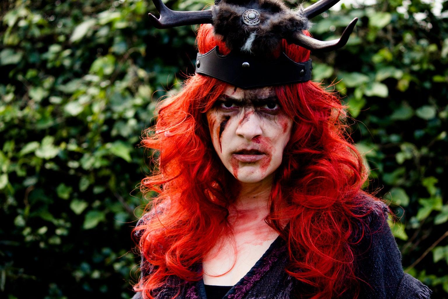 Seven Deadly Sins: Wrath Makeup Tutorial