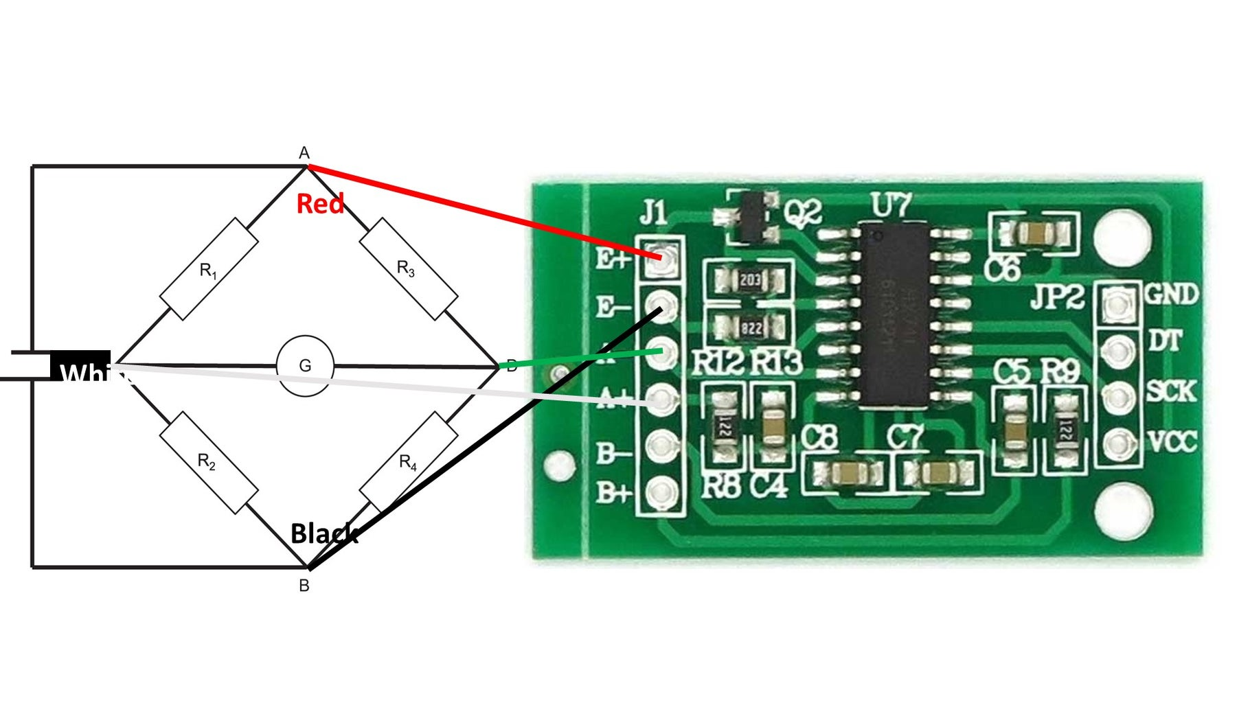 How to Measure These Small Voltages Precisely: the HX711