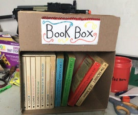 Recycled Book Box!