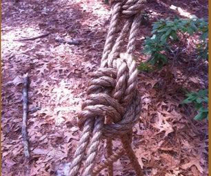 Rope Tackle for Pioneering Use  (Trucker's Hitch)