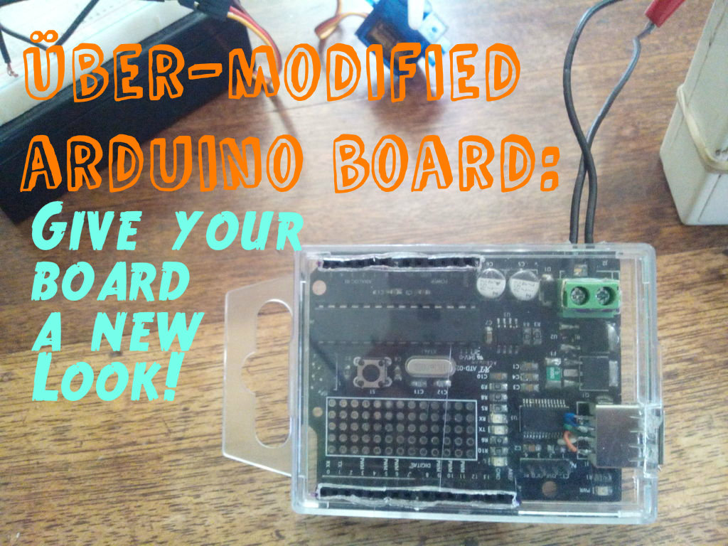 30 minute projects: Über-modified arduino board (arduino keychain)