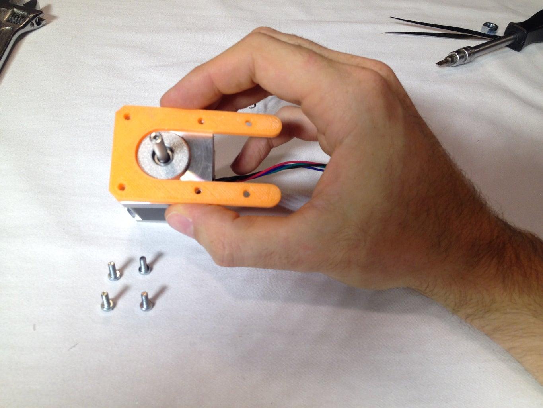 Assemble the Stepper Motor Holder