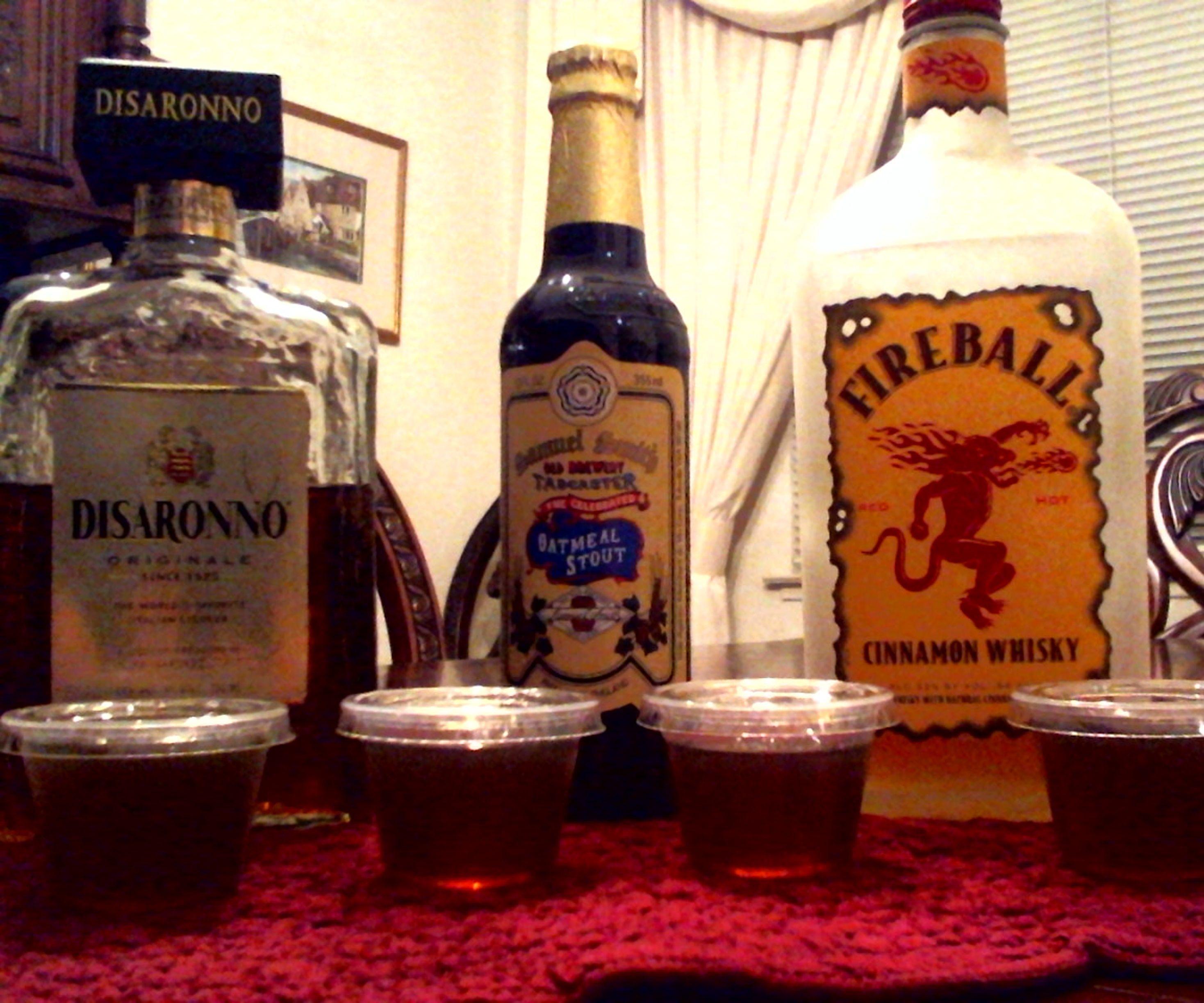 Cinnamon Oatmeal Jello Shots