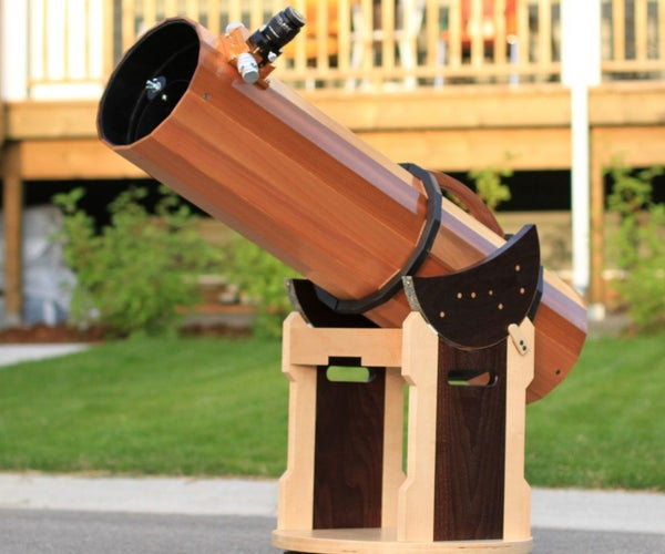 Wooden Telescope Part 2: Tube and Mount