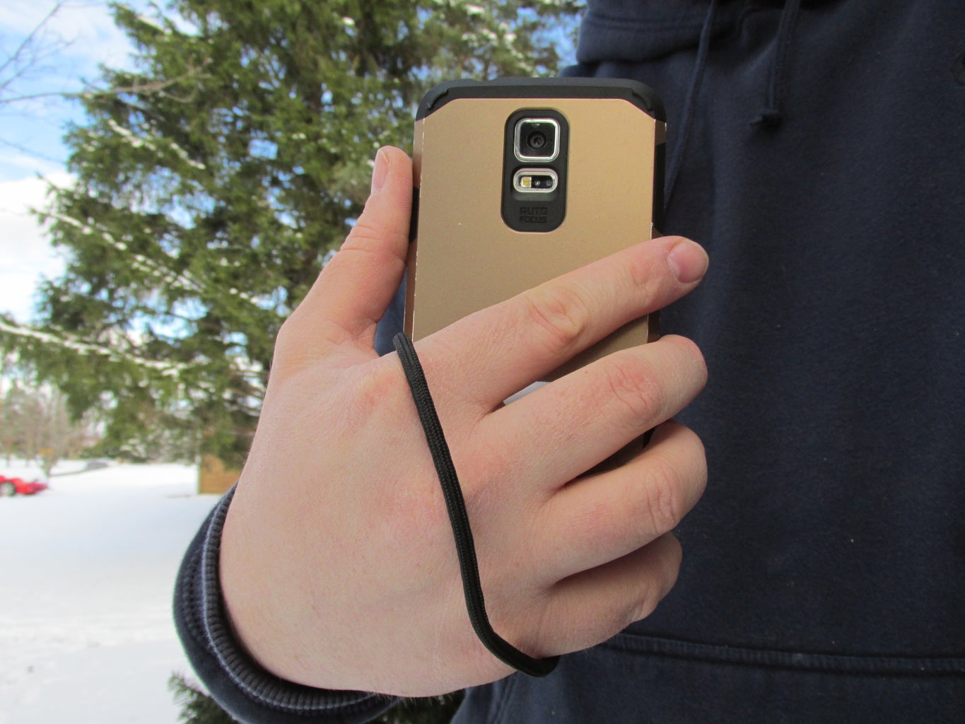 3D Printed Cell Phone Lanyard and Tripod Mount