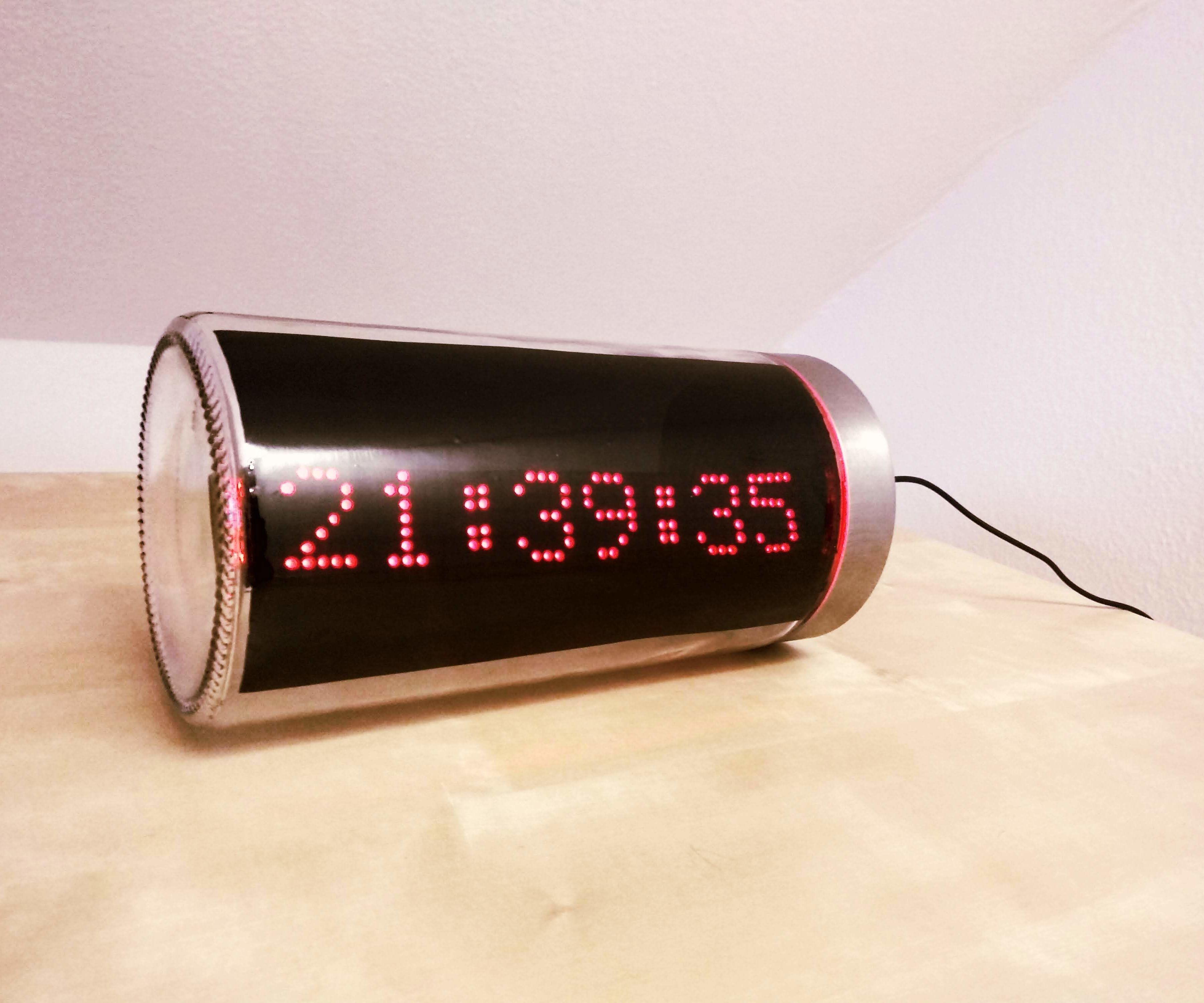 ESP8266 LED Matrix Clock