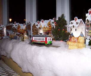 Make Your Own Holiday Window Display