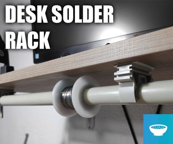 Desk Solder and Wire Rack