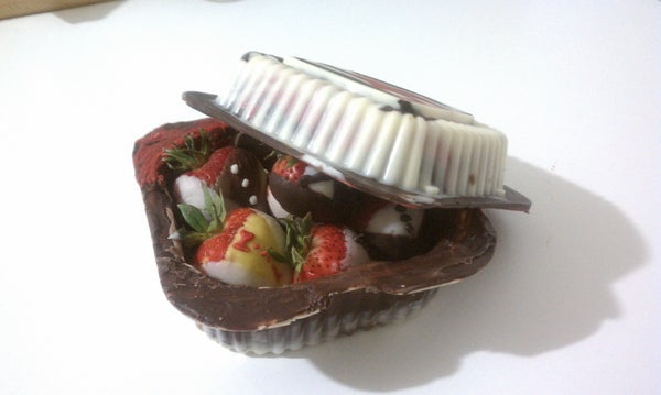 Chocolate Boxes and Strawberries