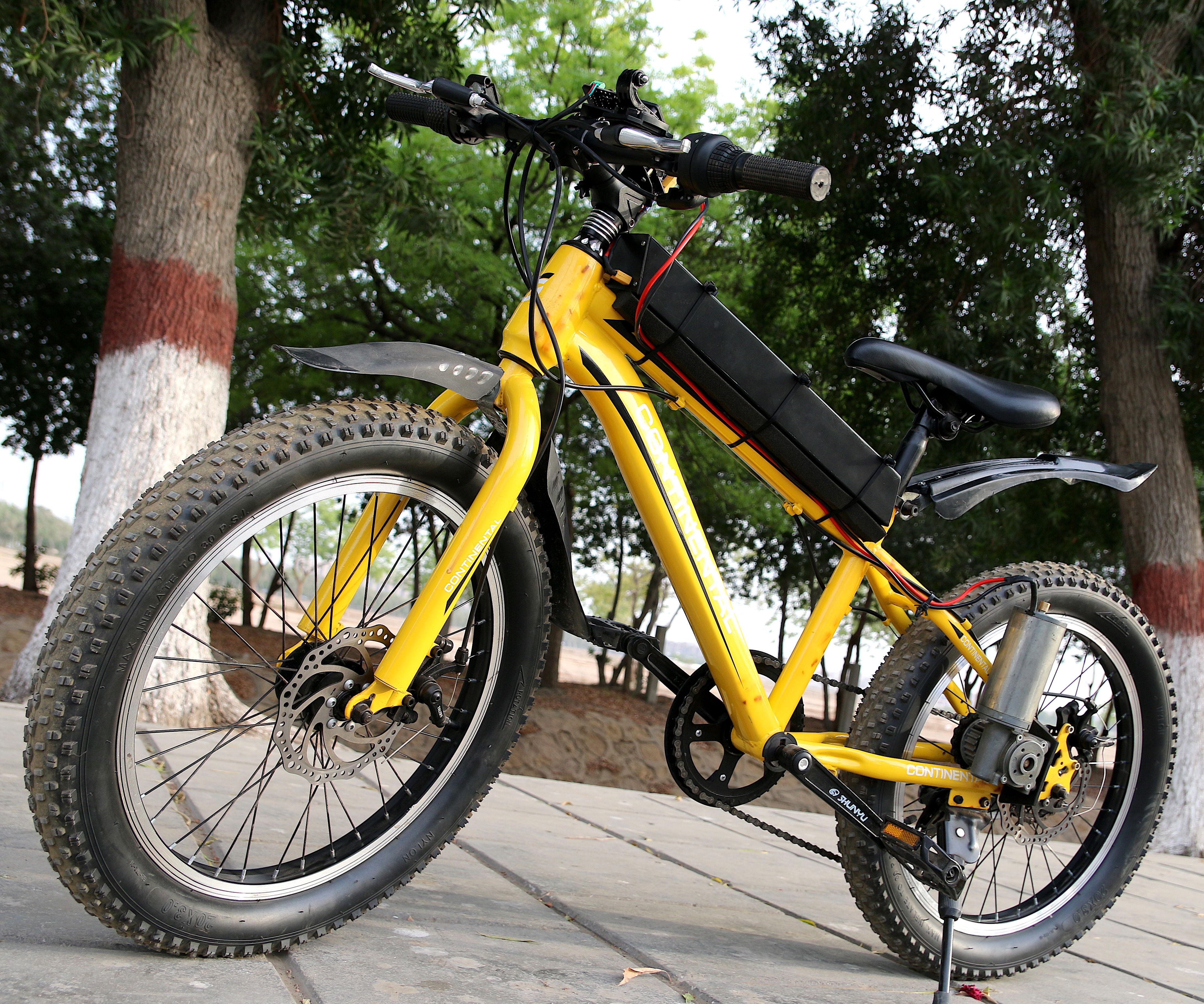 DIY Motorized Bicycle