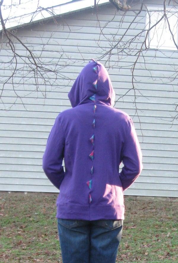 Dinosaur Hoodie (Sweatshirt)