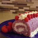 Raspberry and Mascarpone Roll Cake (with mascarpone recipe)