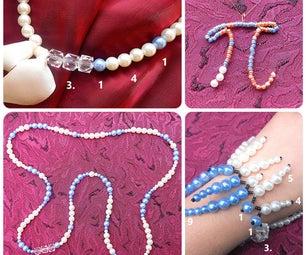 皮珠首饰:项链,手镯和吊坠