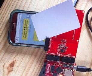 Calling Card: RFID Texting