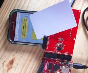 Calling Card: RFID Texting