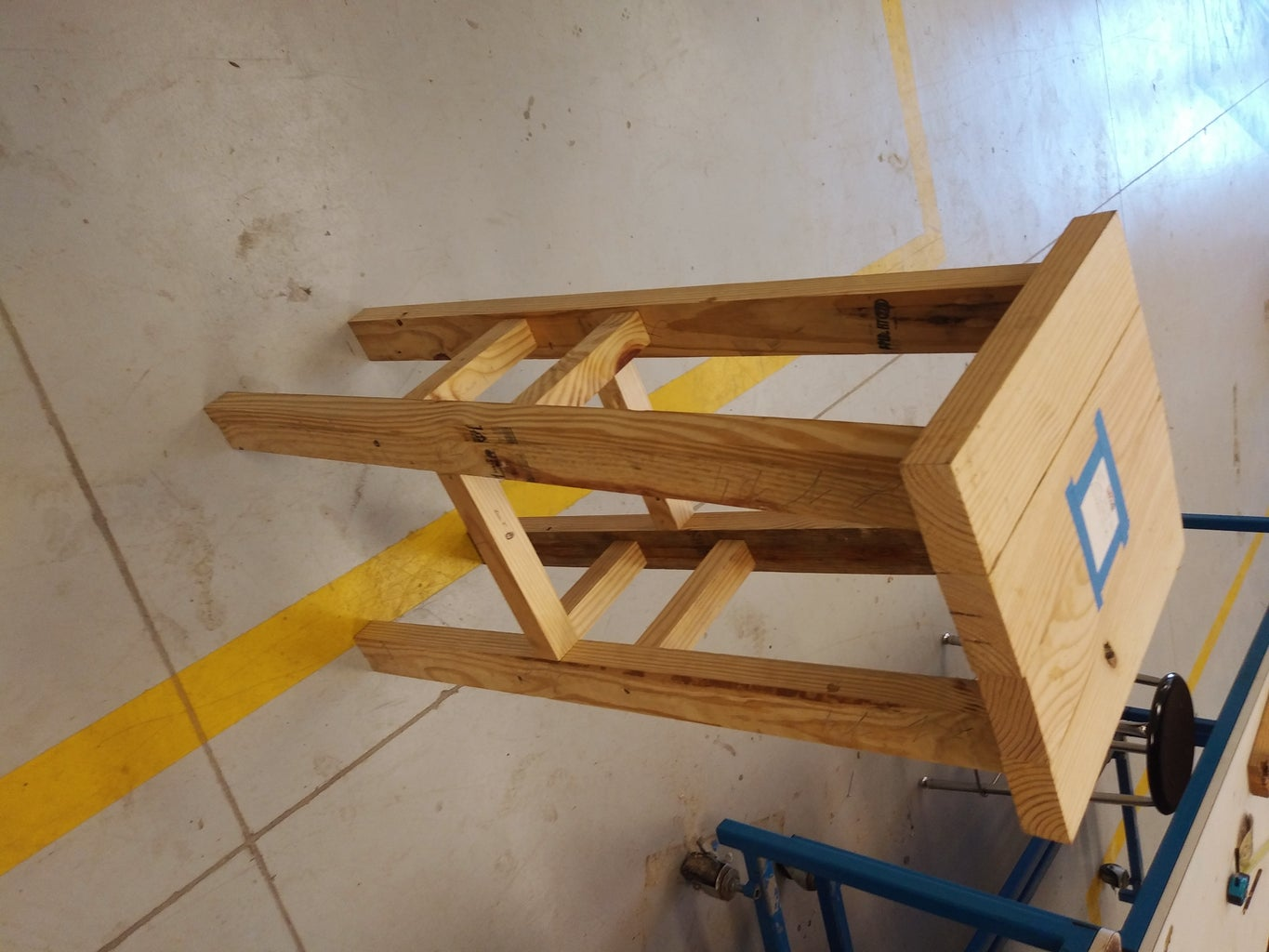 How to Build a Stool Out of 2x4's