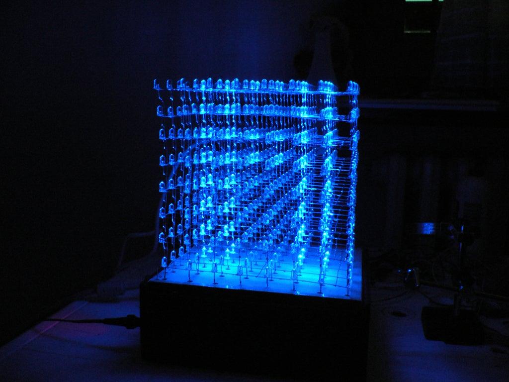 Come Costruire Un Led Cube 8x8x8 (Italian Version) : 7 ...