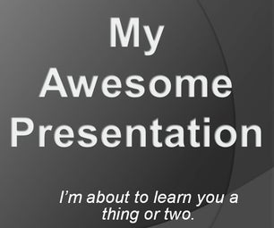 How to Give a Short Class Presentation Competently