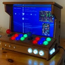 Mini 2-player Arcade From an Old Laptop and Ikea Chopping Boards.