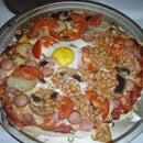 Full English Breakfast Pizza