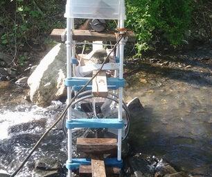 Free Homemade Water Wheel
