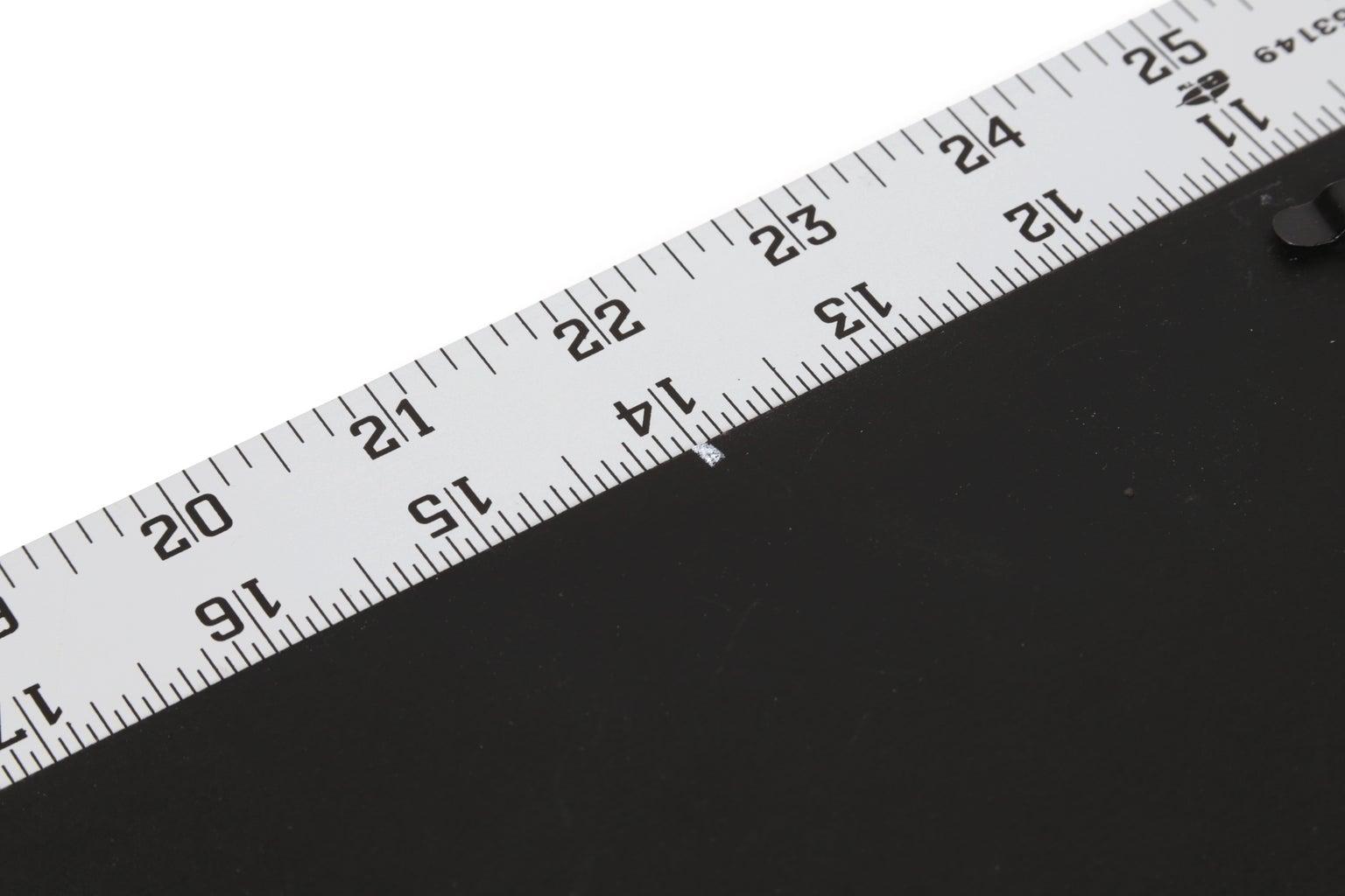 Start Measuring the Back