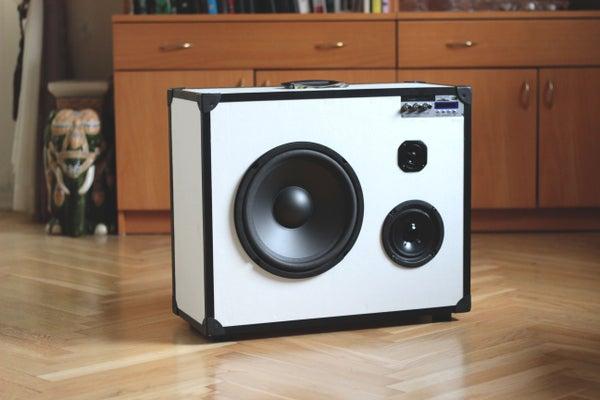 Portable 3-way Hifi Speaker/boomcase
