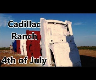 How to Paint ALL OF Cadillac Ranch!