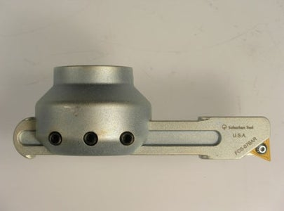 Homemade DIY Fly Cutter, Double Edged, for Milling Machine.