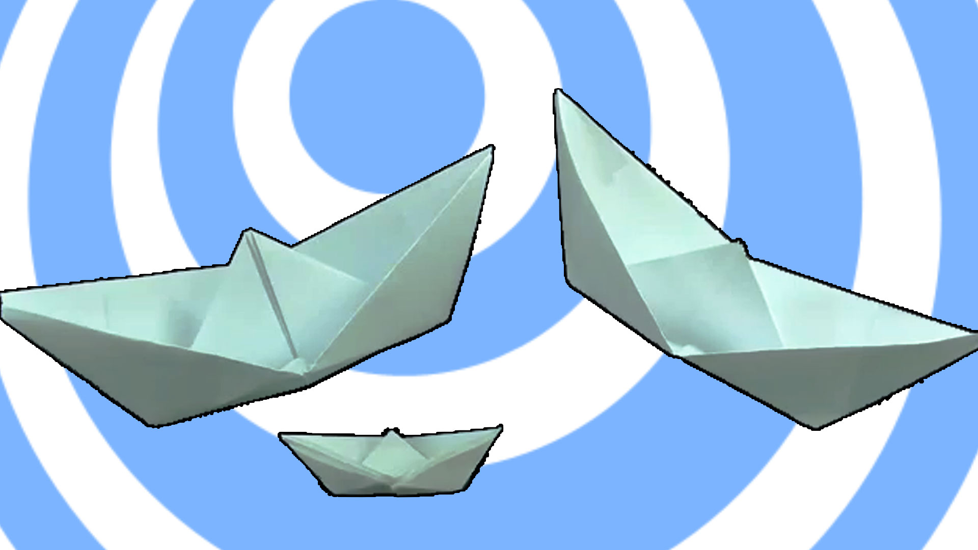 Easy origami ship or boat - Video Tutorial