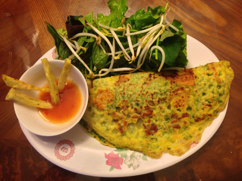 How to Make Vietnamese Crepe